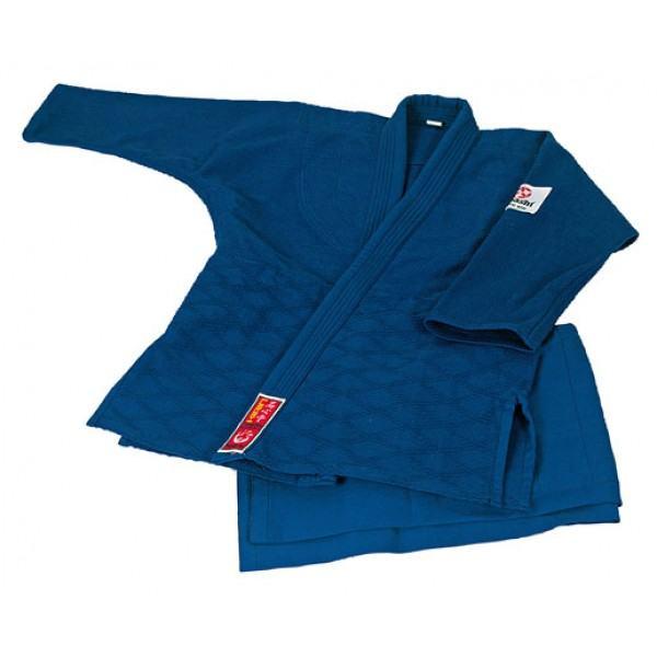 """Dziudo kimono """"HAYASHI"""" Kirin blue"""