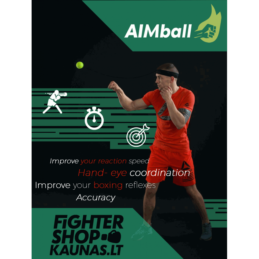 """AIMball """"CLASSIC"""" treniruočių kamuoliukas"""