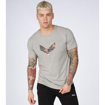 """Marškinėliai KnockDown """"WorldChamp"""" pilki"""