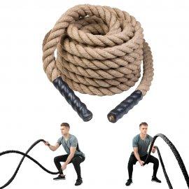 Natūrali jėgos-kovos virvė iš