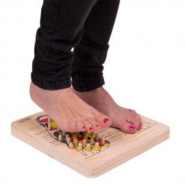 Pėdų taškinio masažo lenta inS
