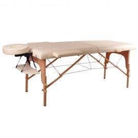 Mobilus medinis masažo stalas