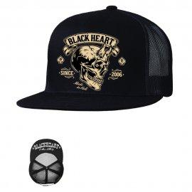 Kepurėlė baikeriams BLACK HEAR