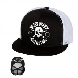 Snapback Hat BLACK HEART Basta