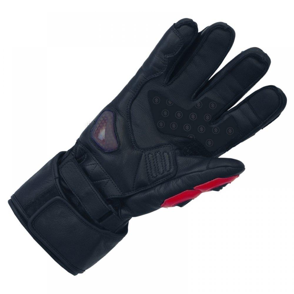 Šildomos motociklininkų pirštinės Glovii GDB - Black XL