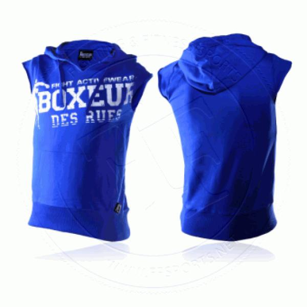 """Marškinėliai be rankovių su kapišonu """"Boxeur: - M dydis"""