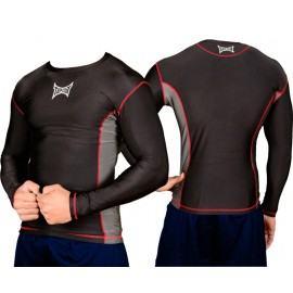 """MMA marškinėliai """"Tapout"""" ilg. rank. (juodi) - XL"""