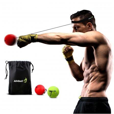 Naujasis Treniruočių kamuoliukas AimBall 2in1