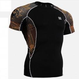 """Fixgear """"Crossroad Skull"""" Kompresiniai Marškinėliai - S,M,L,XL,XXL"""