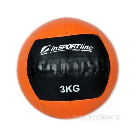 Kimštinis svorinis kamuolys inSPORTline WallBall 3 kg