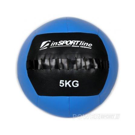 Kimštinis svorinis kamuolys inSPORTline WallBall 5 kg