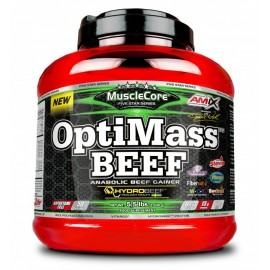 AMIX MUCLECORE OPTIMASS BEEF GAINER 2.5KG
