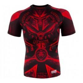 Venum Gladiator 3.0 Red Devil kompresiniai marškinėliai trumpom rankovėm