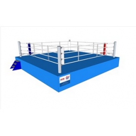 Official AIBA Ring 2011 dimension 7.8 x 7.8 meters.