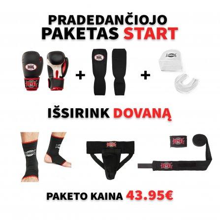 START kovotojo paketas + DOVANA